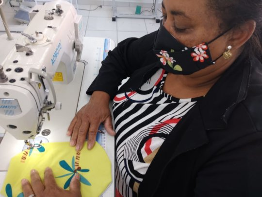 Textile Skills for 40 Marginalized Women in Brazil