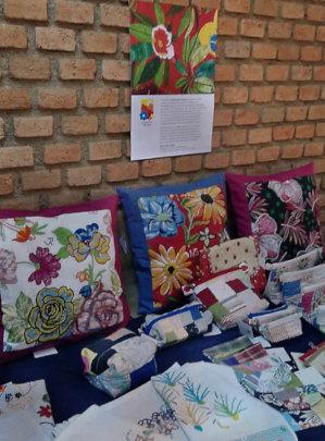 'Eldorado Textiles' at Christmas fair in Sao Paulo