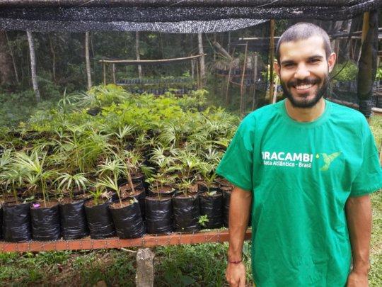 Marcelo, new nursery team member