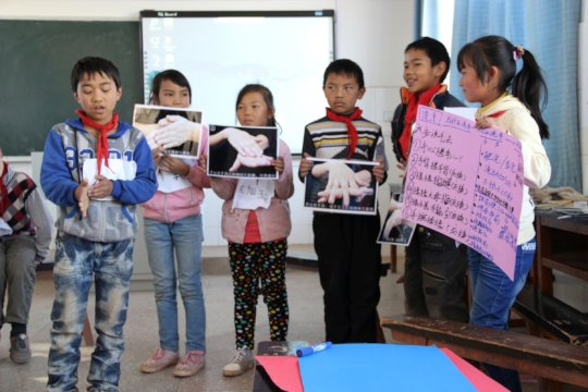 Empower Health for 1000 Children in Rural China