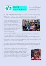 IGWR Inc. Annual report (PDF)