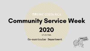 2020 Service Week Projects (PDF)