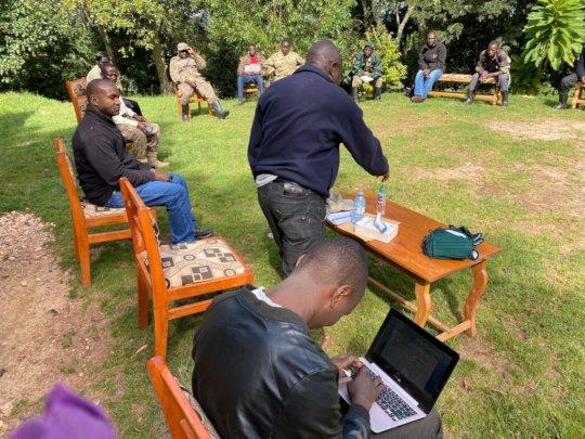 Training of park staff