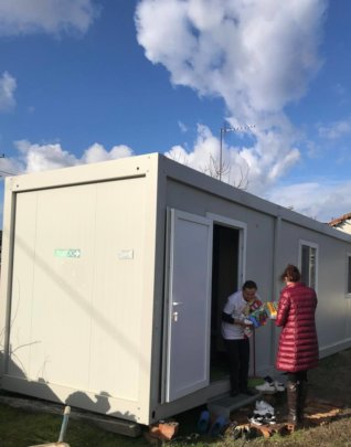 Living in a container is not like a real home