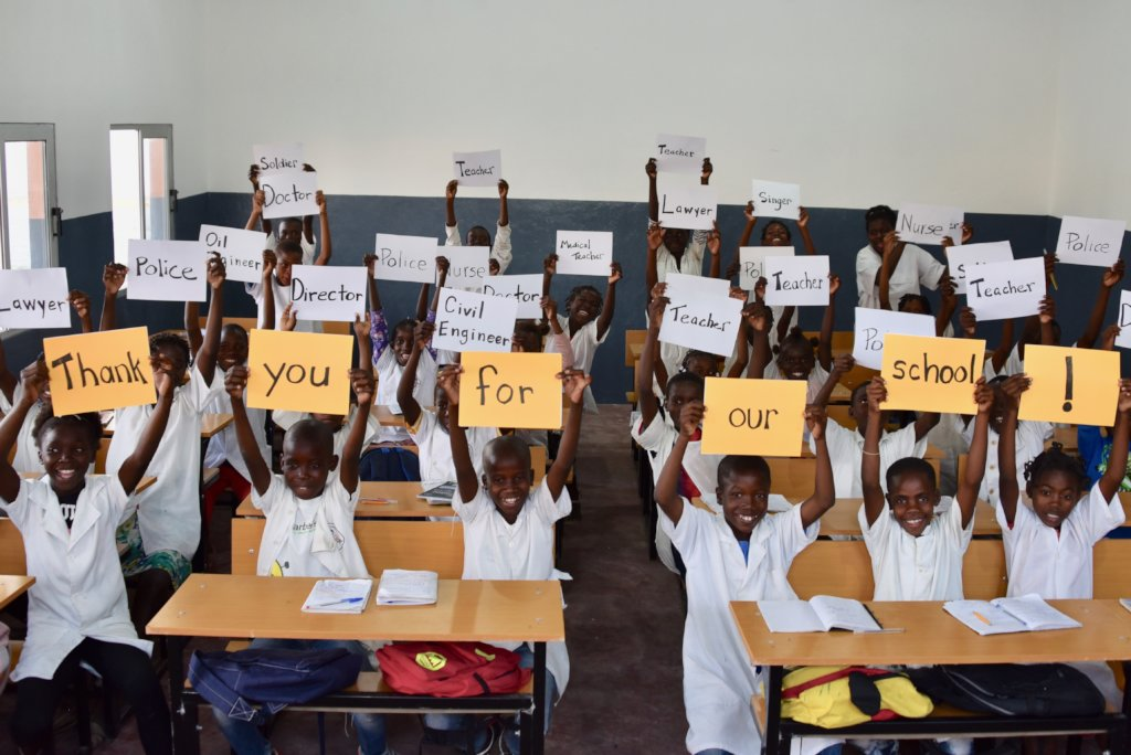 Give 100 Kids in Angola Access to Education