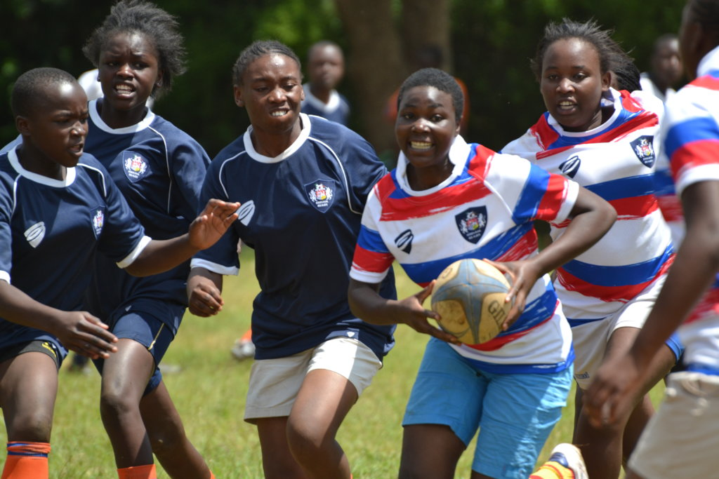 Empowering 50 girls in Nairobi through Rugby