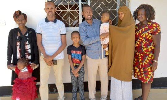 Group in Tanzania