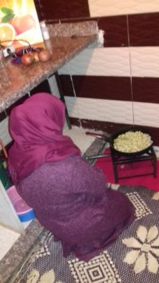 Refugee Families affected by economic crisis