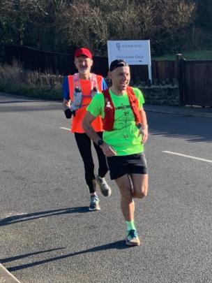 Eric running