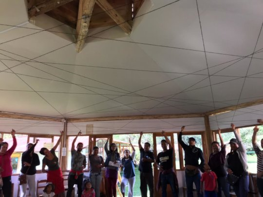 working with families, creating a net