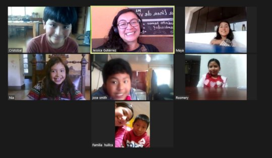 group 3 in a zoom meeting