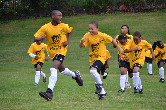 Howard Road Academy Goes For A Goal