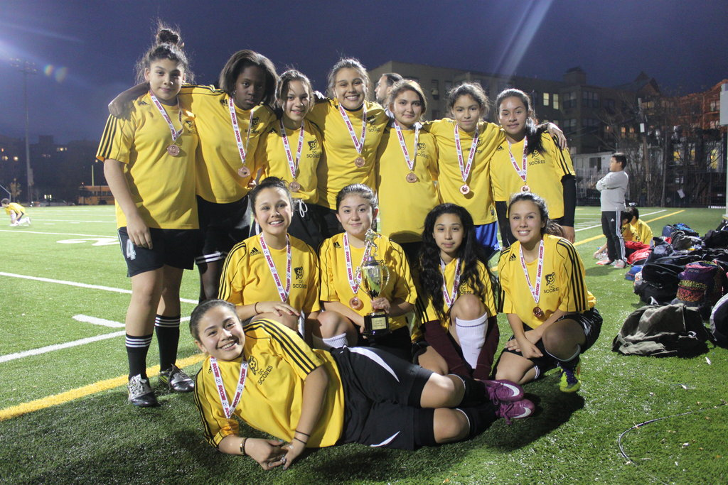 Oyster Adams - Girls Capital Cup Champions