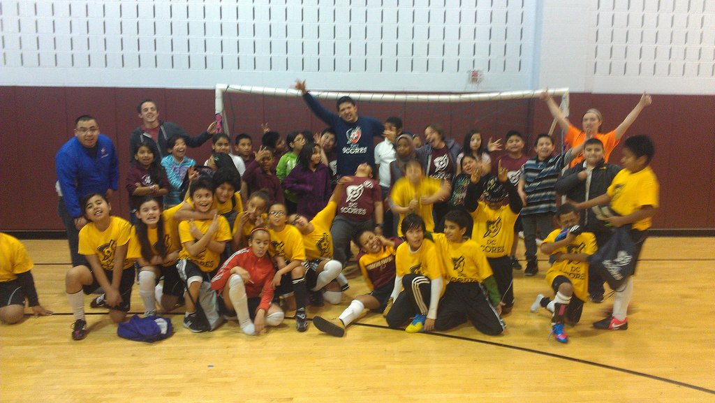 Indoor Soccer Clinic and Game