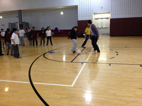 Indoor Soccer Practice