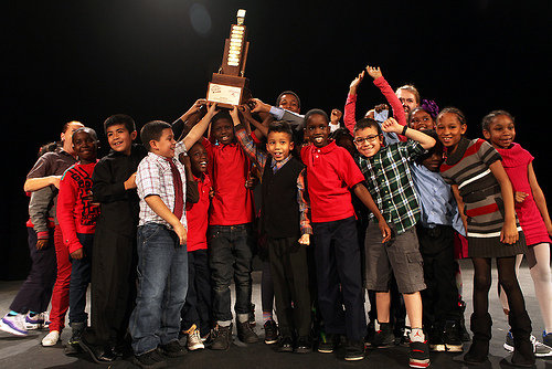 JC Nalle Elementary School - Poetry Slam!
