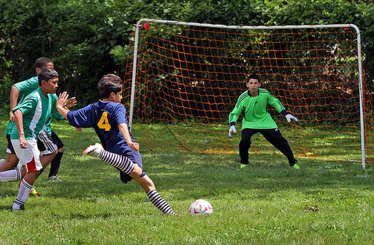 Macfarland vs. Paul (middle school soccer)