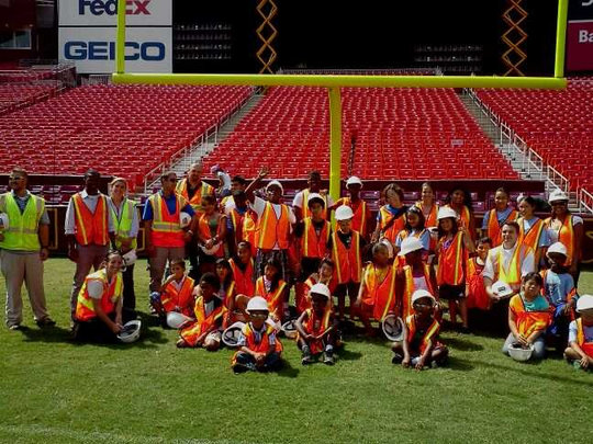 Field trip to Fed Ex Field