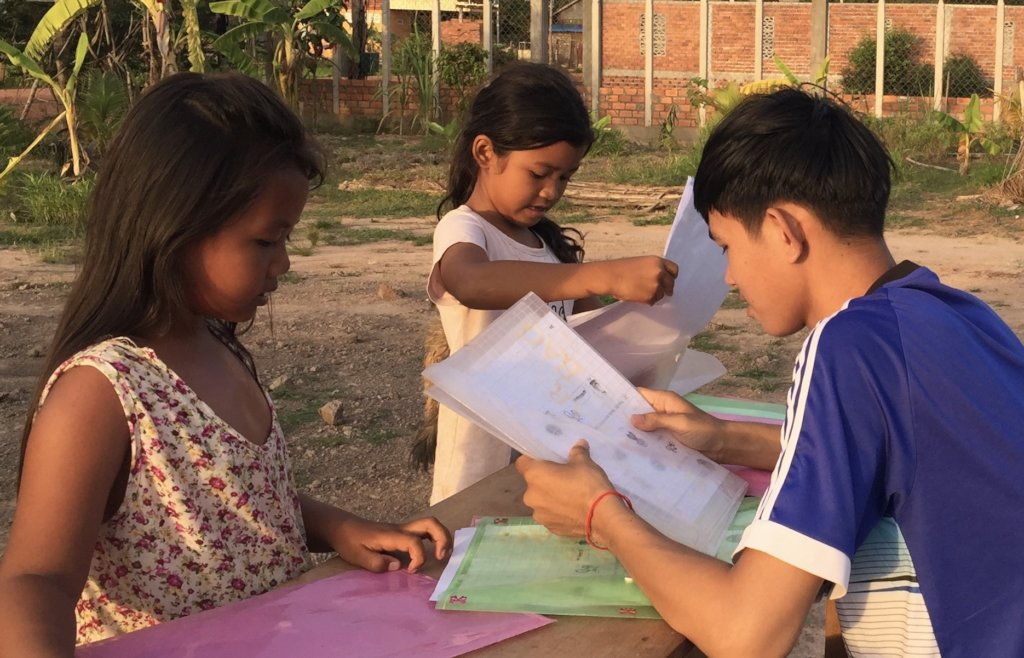 Empowering Cambodian children with language