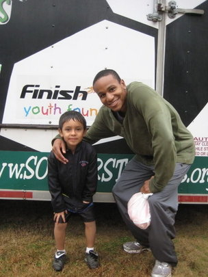 Ricardo Clark: Teaching life skills through soccer