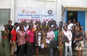 Training 20 Ghana Young Women Social Entrepreneurs