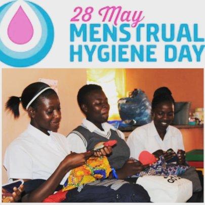 Celebrating menstrual Hygiene day- past pad packs!