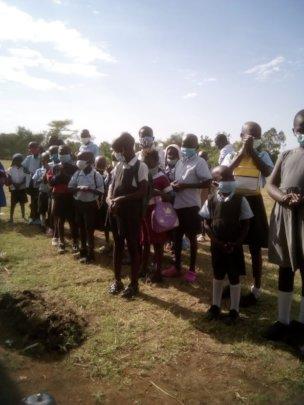 Kisumu School - First Day