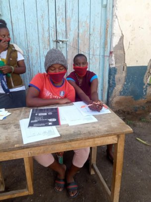 Girls Studying - keeping hope