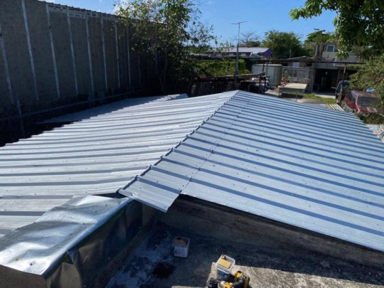 Juan's Roof - AFTER