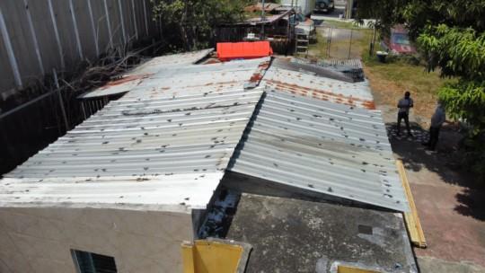 Juan's Roof - BEFORE