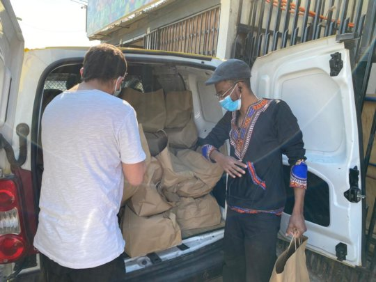 Solidarity with Haitian migrants