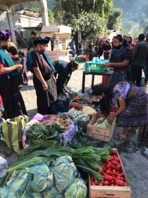 Opening day of the Market