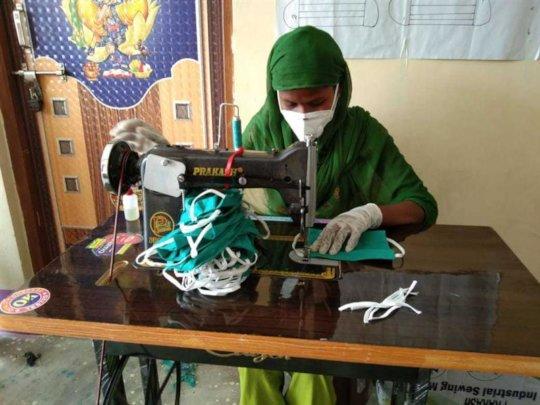 Face mask production