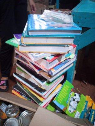 Childrens books arrive