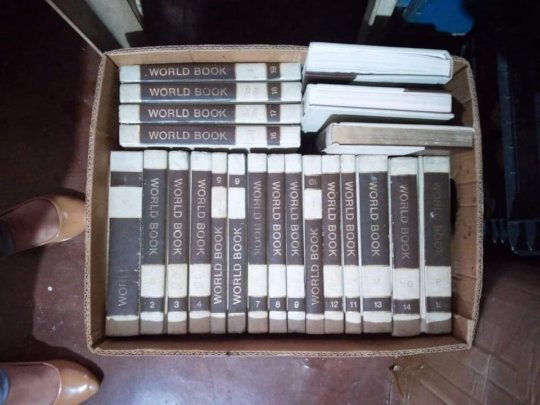 Encyclopedias find a new home