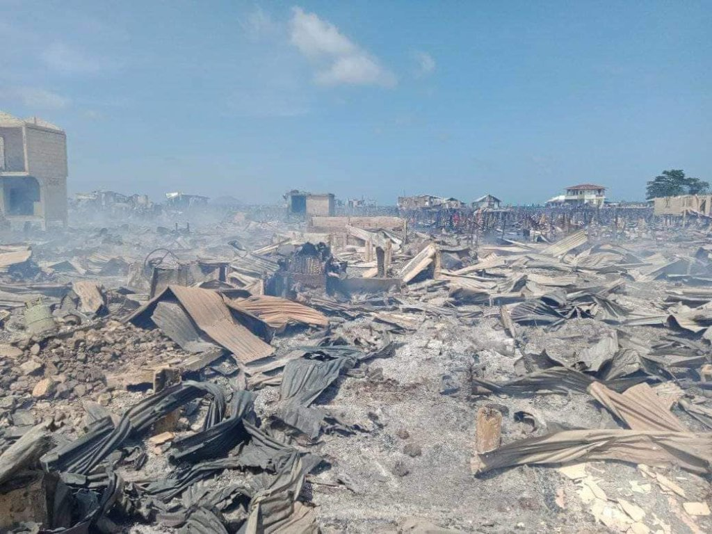 3,000 homes destroyed in Jolo fire