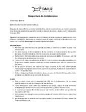 Reapertura de Fundacion DALUZ (PDF)