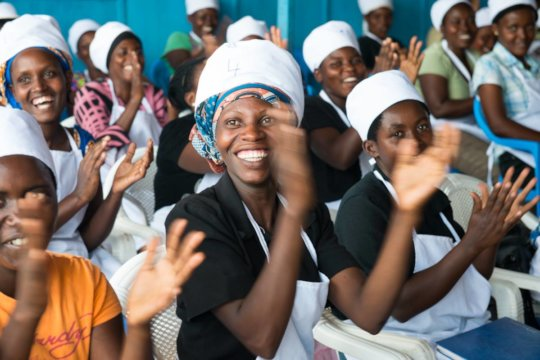 Empower 200 Rwandan Girls To Move Out Of Poverty