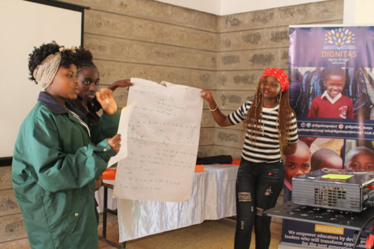 Enable Girls in Kenya to Thrive and Succeed!