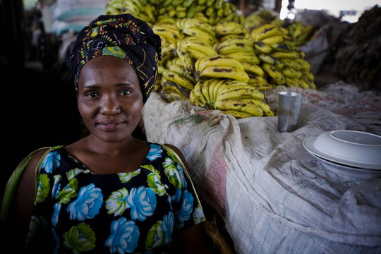 Mary, an Opportunity client in Tanzania