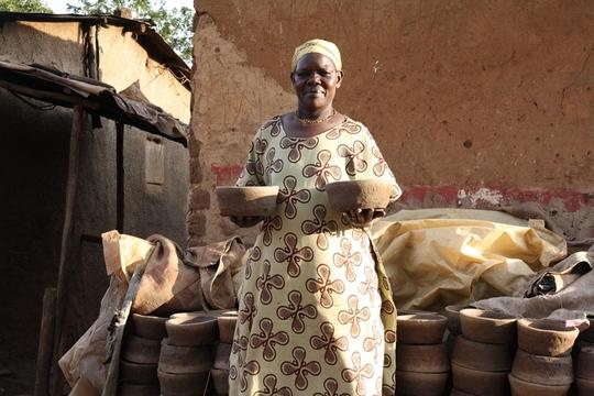 Anisa Atoo, returned client to Kampala from Juba
