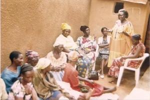 Beatrice addresses micro credit annual meeting