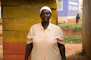 Flowrence Achan - project beneficiary