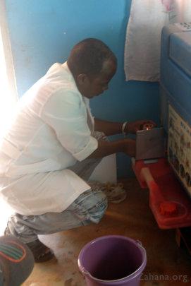 The kerosene powered refrigerator
