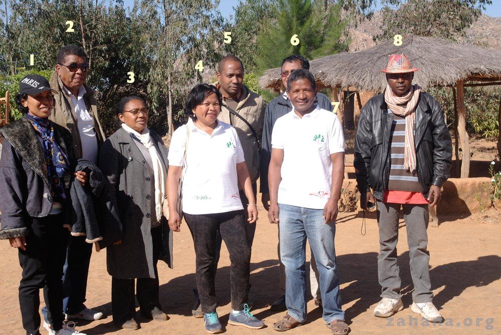 The visiting Zahana Team