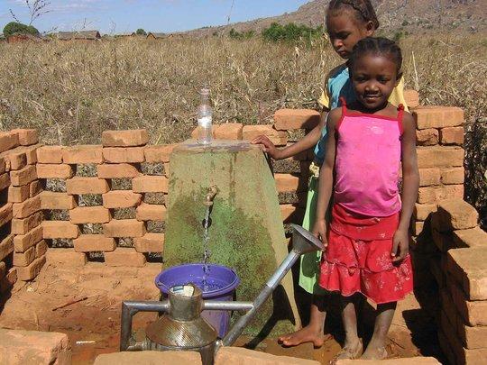 School water faucet