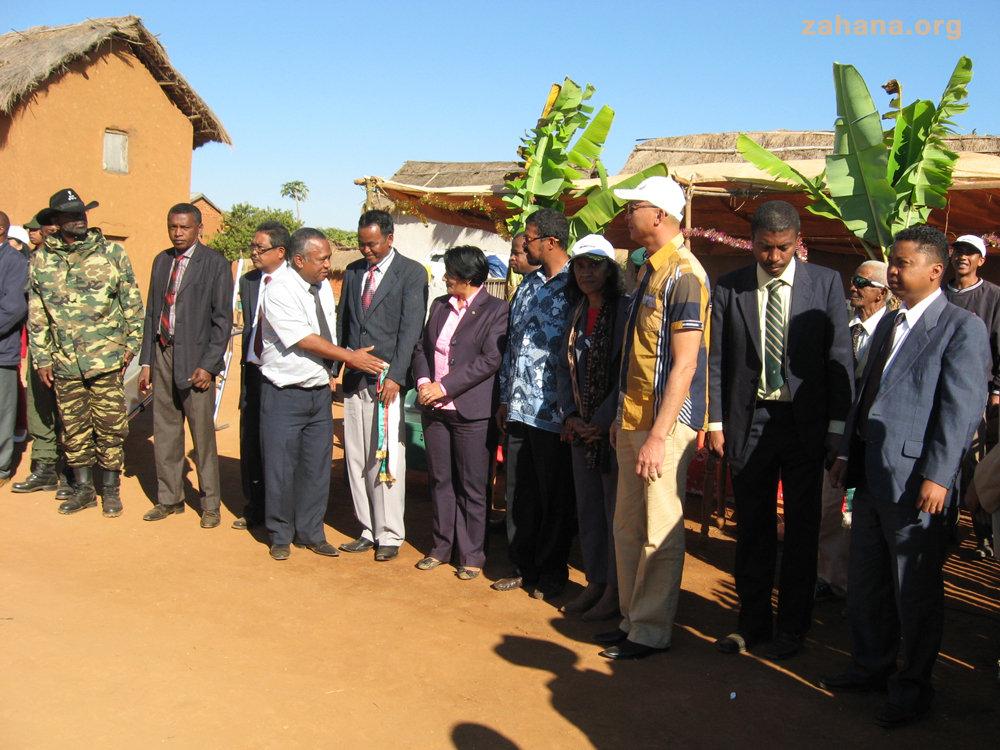 Visiting representatives and politicians