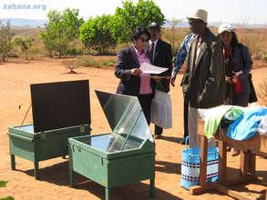 A solar cooker as the award
