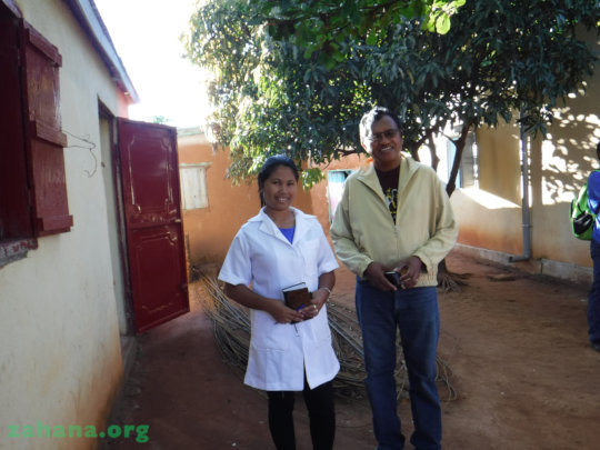 The new Midwife with Regional Health Director