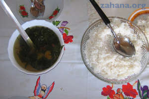 Rice and Laoka -The Meal in Madagascar